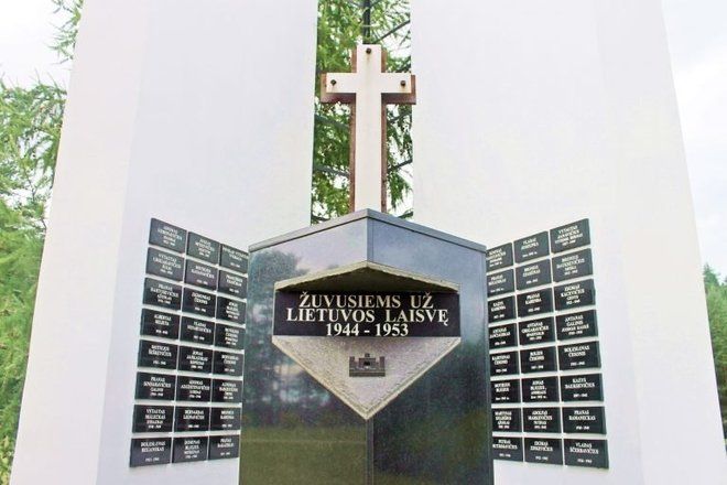 For those who died for the freedom of Lithuania