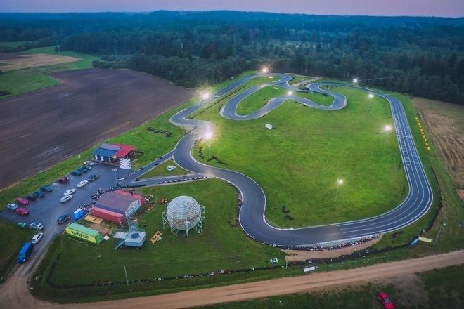 Speedway kart track