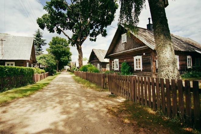 Grabijolai village